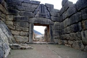 The Lion's Gate in Mycenae